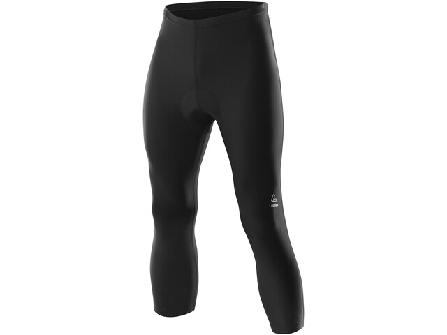 Löffler Basic 3/4 Bike Tights Men black